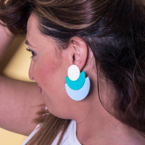 EARRINGS ABANICO