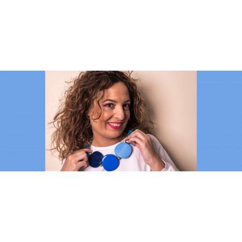 GARGANTILLA TRIO DE ASES BLUE