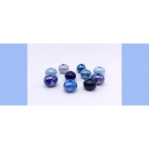PACK 10 bolas standard azules