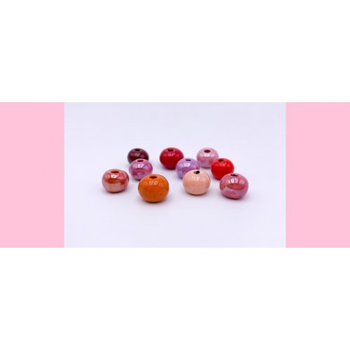 PACK 10 standard red balls