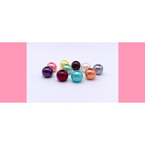 PACK 10 pearlised balls