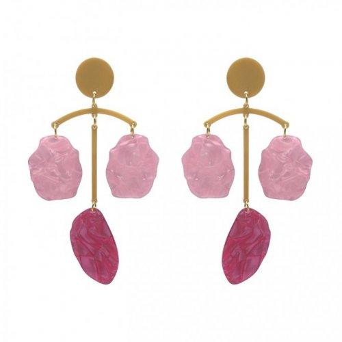 pendientes balance rosa a la venta en anabi.online