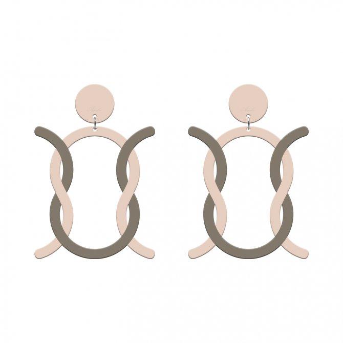 pendientes omega bi nude y topo a la venta en anabi.online