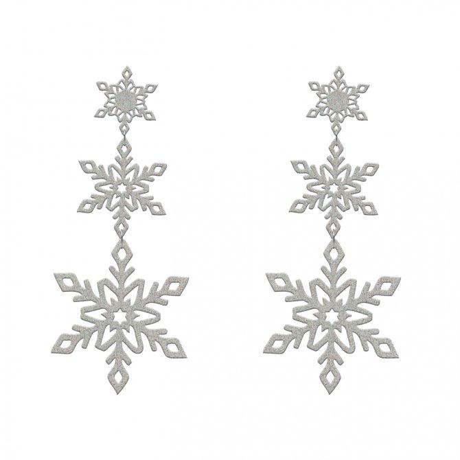 Earrings polar in online store anabi.online