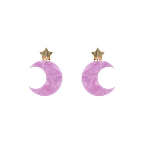 Pendientes lunar mini a la venta en anabi.online