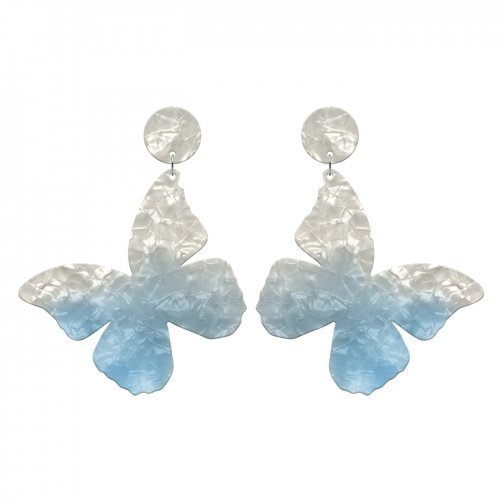 Blue earrings mariposa in online store anabi.online