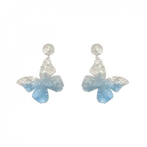Pendientes mariposa medium azul a la venta en anabi.online