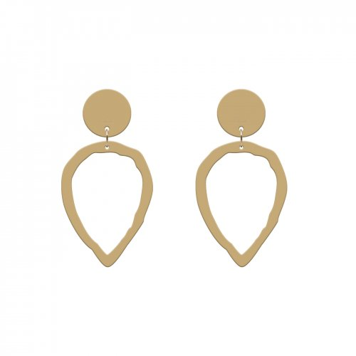 Pendientes clean oro mini a la venta en anabi.online