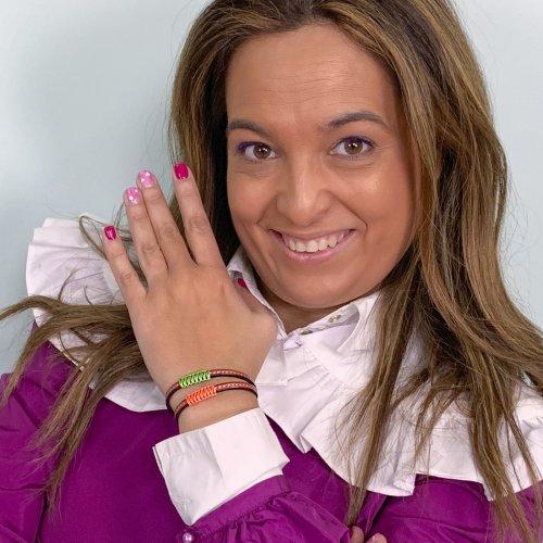 Detalle pulsera Rosil, diseñado por ANABI a la venta en www.anabi.online