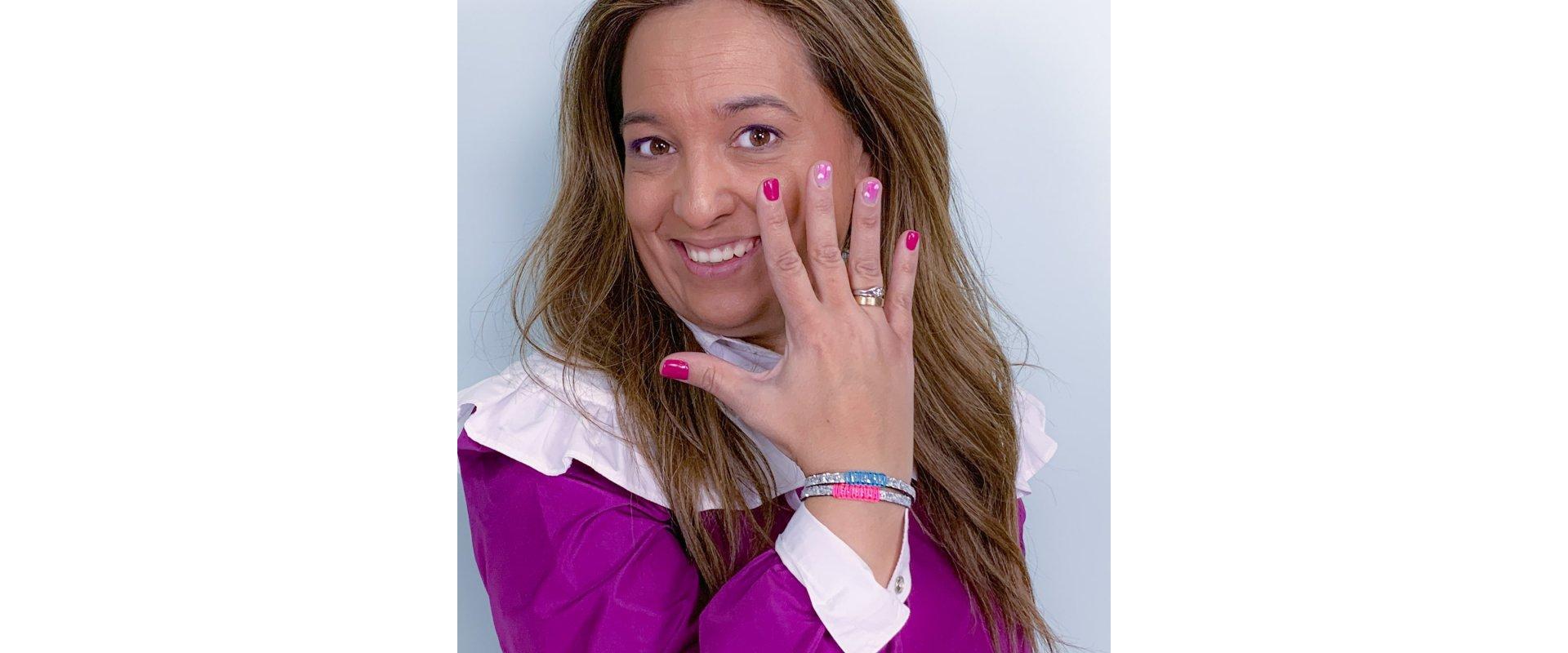 Detail bracelet Platín in online store anabi.online