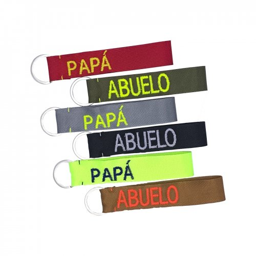 Men´s personalised key rings designed by ANABI, you can buy it on online store www.anabi.online