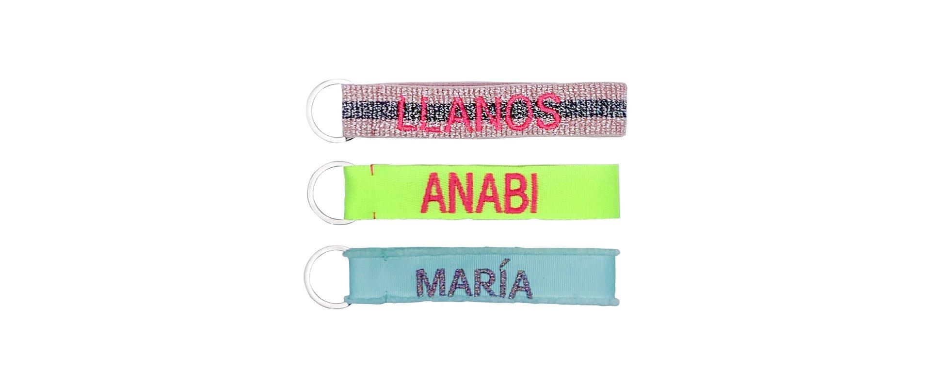 Llavero chica personalizado diseñado por ANABI a la venta en www.anabi.online