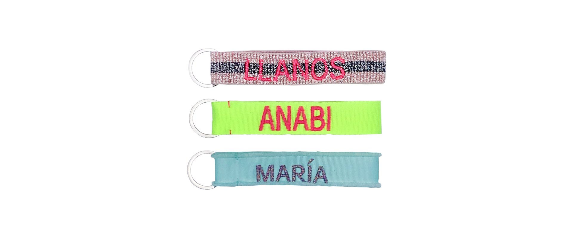 Women´s personalised key rings designed by ANABI, you can buy it on online store www.anabi.online