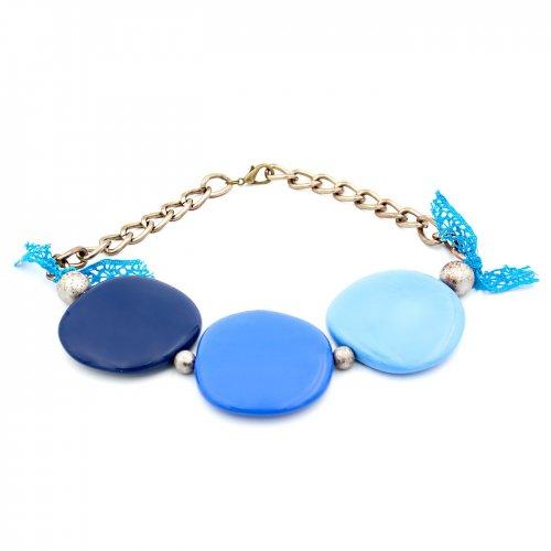 CHOKER TRIO DE ASES BLUE
