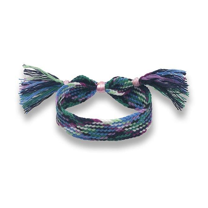 Blue bracelet wayuu in online store anabi.online