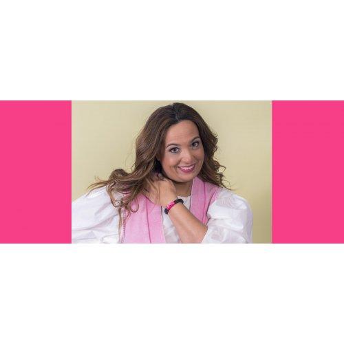 Image Fuchsia bracelet Swarovski in online store anabi.online