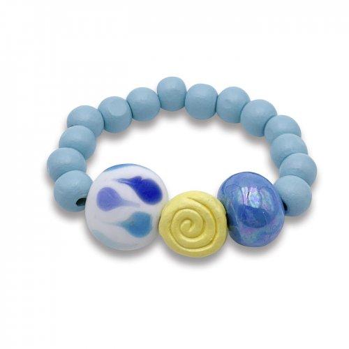 Pulsera Infinity azul a la venta en anabi.online