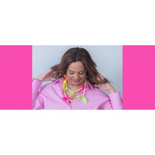 Image Multicoloured Necklace-Chocker in online store anabi.online