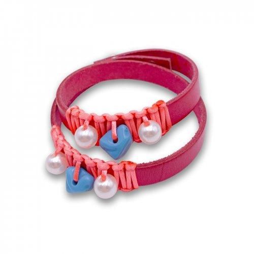 Fuchsia spiral bracelet in online store anabi.online