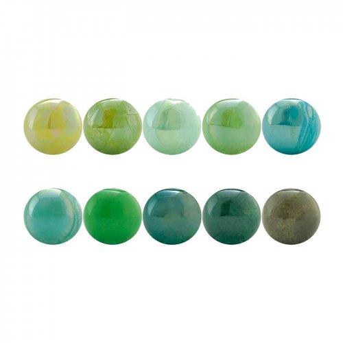 PACK 10 green standard balls