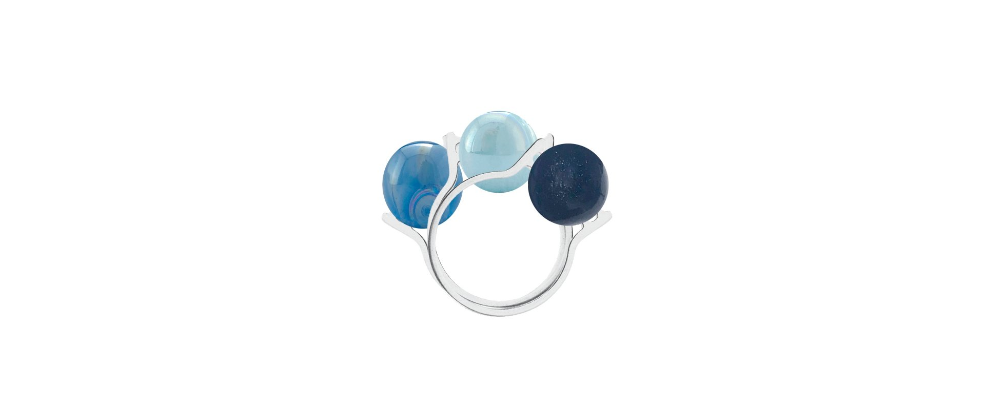 TRIPLE BALL INTERCHANGEABLE RING