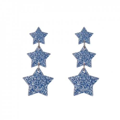 EARRINGS CASCADA 3 ESTRELLAS