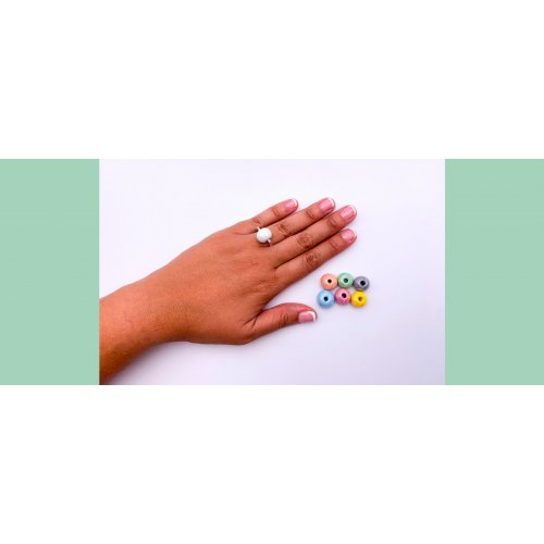 PACK a - INTERCAMBIABLE RING & 6 Balls