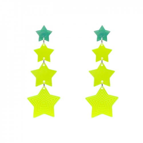 EARRINGS CASCADA 4 ESTRELLAS