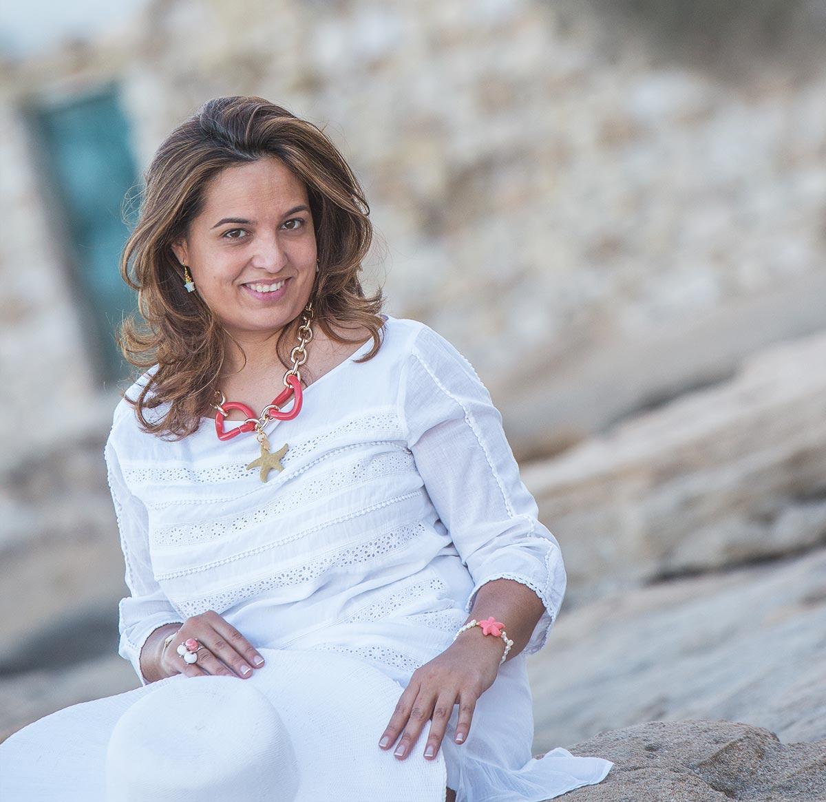 Gargantilla Estrella de Mar, collares personalizados y a la moda en Anabi.es