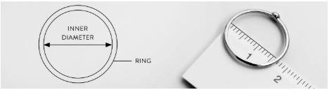 medir diametro de tu anillo en tienda online ANABI