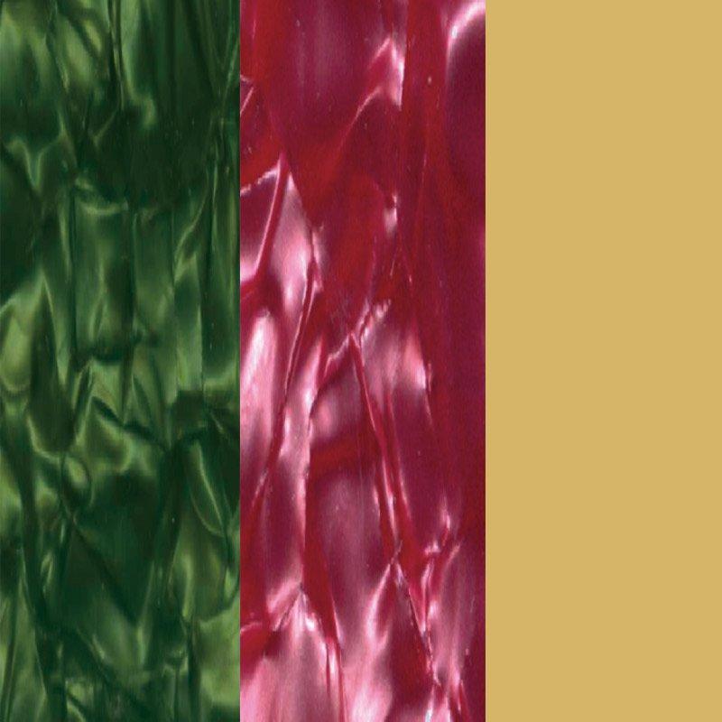 Verde N., Rosa N y Oro